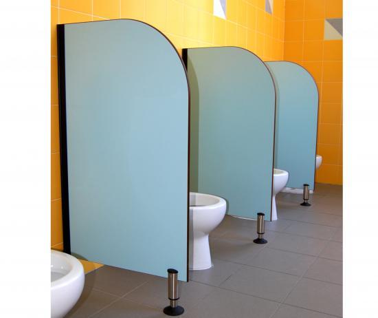 Linea divisori bagno paretine divisorie in laminato - Laminato per bagno ...