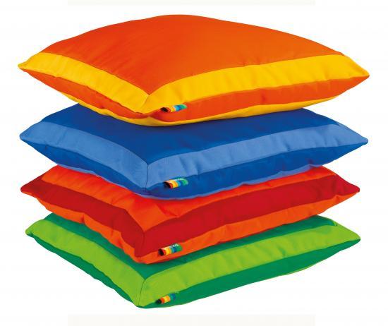 Cuscino Grande Bicolore 60x60 Linea Morbido