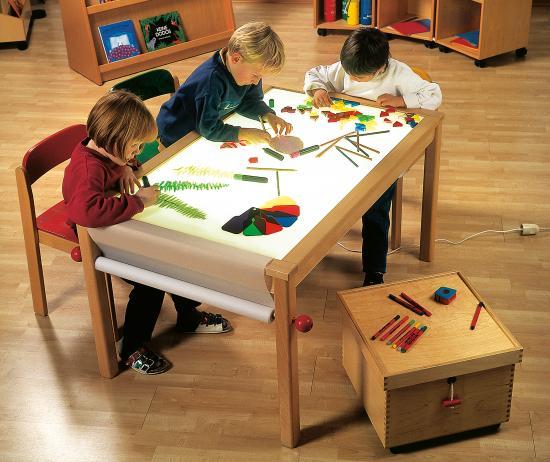 Tavolo luminoso linea mini - Tavolo luminoso per disegno ...