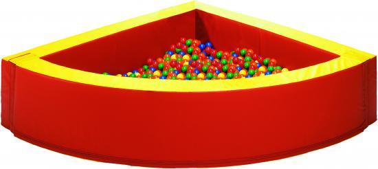 Piscina angolare 180cm 60h con 1200 palline linea - Piscina palline ikea ...