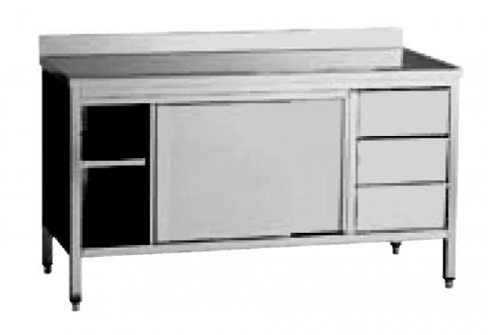base con cassetti e ante - linea cucina - pulcinodoro.it - Base Per Cucina