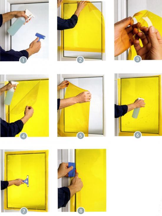 Pellicole adesive kit linea sicurezza - Pellicole adesive per mobili ...