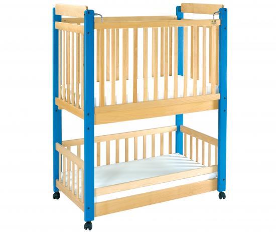 Letto a castello per lattanti completo di 2 materassi linea basic - Tende per letto a castello ...