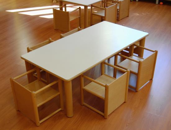 Tavoli Da Giardino Risparmio Casa : Kit risparmio nido: tavolo rettangolare 6 sedie pluriuso