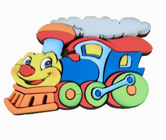 Decoro in polistirolo maxi 39 trenino 39 linea deccori for Divanetti per bambini